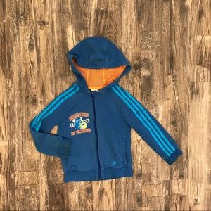 3/15 Adidas 5/6 size M sweater Monster Inc super cute